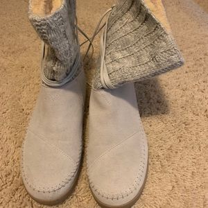 Toms Nepal sweater knit Boots